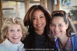 Pat, Carrie, Lori